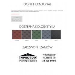 GONT TECHNONICOL - HEXAGONAL (3 M2)